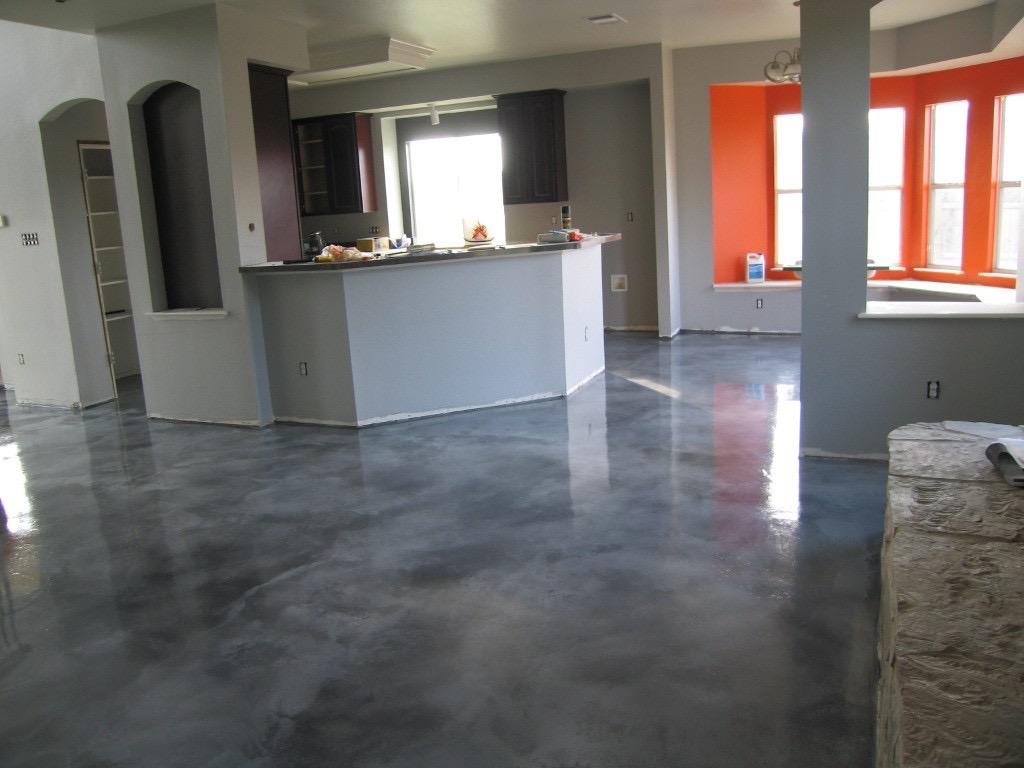 Metallic Epoxy Gallery Dna Construction